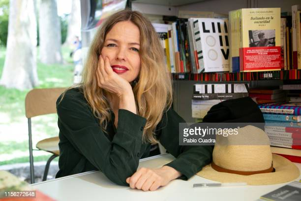 Christina Rosenvinge attends Book Fair Madrid 2019 at Retiro Park on June 16 2019 in Madrid Spain