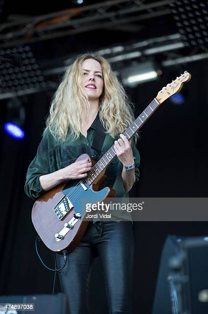 Christina Rosenvinge performs on stage during the first day of Primavera Sound Festival on May 27 2015 in Barcelona Spain