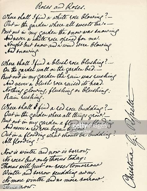 Christina Rossetti Poems 3