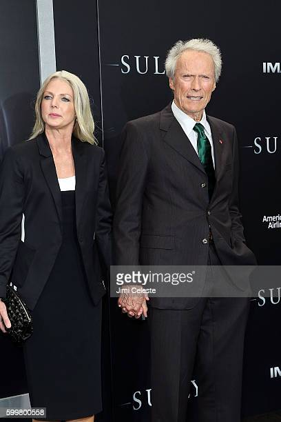 "Christina Sandera and Director Clint Eastwood attends The New York Premiere of Warner Bros. Pictures' and Village Roadshow Pictures' ""Sully"" at Alice..."