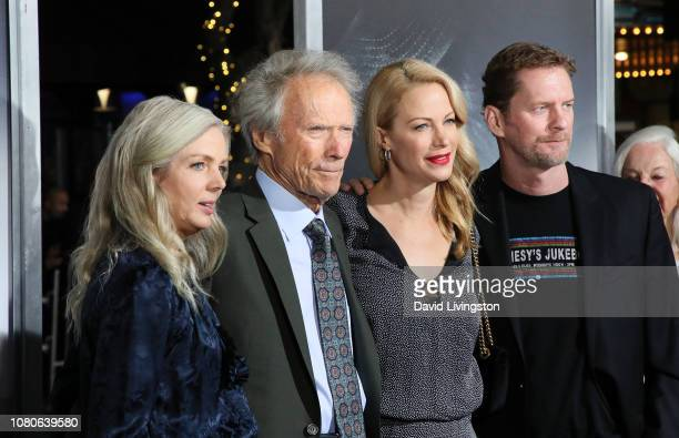 Christina Sandera Clint Eastwood Alison Eastwood and Stacy Poitras attend Warner Bros Pictures World Premiere of The Mule at Regency Village Theatre...