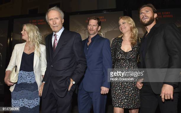 Christina Sandera Director/Producer Clint Eastwood Stacy Poitras Alison Eastwood Scott Eastwood arrive at the premiere of Warner Bros Pictures' The...