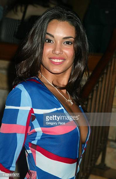 Christina SantiagoPlayboy Playmate Of the Year during Playboy Launches Double CD Set with Tantric Records at Capitale in New York City New York...