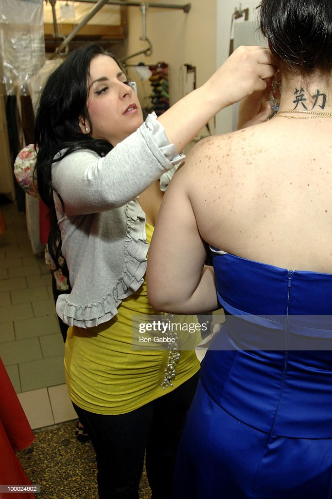 Christina Scali attends the Jersey Girls Make New York Prom Dreams Come True event at Cameo Cleaners on May 20, 2010 in New York City.