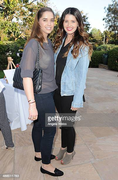 Christina Schwarzenegger and Katherine Schwarzenegger attend the Wine Women Shoes Event benefiting The Children's Action Network event at a private...