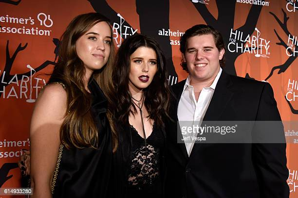 Christina Schwarzenegger author Katherine Schwarzenegger and Christopher Schwarzenegger attend Hilarity for Charity's 5th Annual Los Angeles Variety...