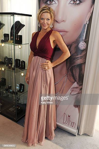 Christina Simpkins attends the 2012 DPA Golden Globe Awards Gift Suite on January 12 2012 in Beverly Hills California