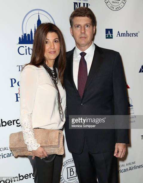 Christina Steinbrenner and Hal Steinbrenner attend the CitymealsOnWheels 27th annual Power Lunch for Women at The Plaza Hotel on November 22 2013 in...