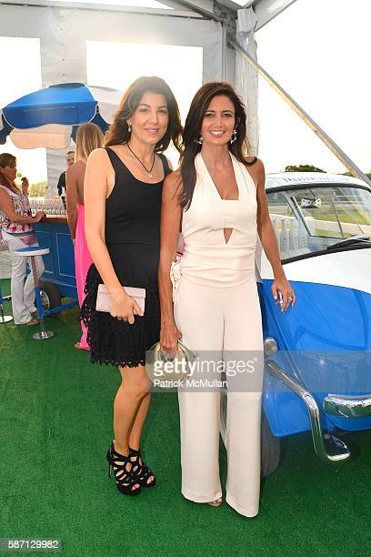 Christina Steinbrenner and Maria Baum attend the 2016 Hamptons Paddle Party for Pink Benefiting the Breast Cancer Research Foundation at Fairview on...