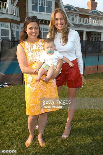 Christina Stewart Ward Arthur Ward Jr and Alison Brokaw attend LILLY PULITZER and James Bradbeer Jr Host a Family Tea Party in Honor of THE BOYS'...