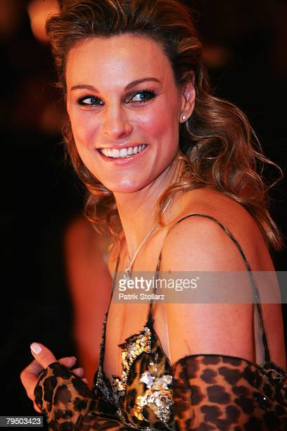 Christina Surer poses the 2008 Sports Gala ' Ball des Sports ' at the RheinMain Hall on February 2 2008 in Wiesbaden Germany