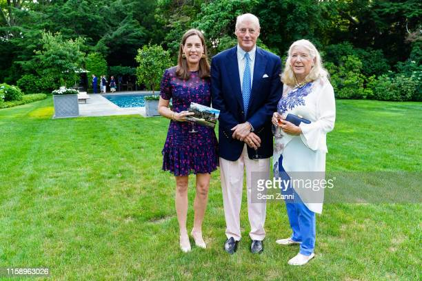 Christina Teagle Grant Porter and Christina Porter and attend A Country House Gathering To Benefit Preservation Long Island on June 28 2019 in Locust...