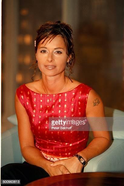 Christina Tina Plate H a r a l d S c h m i d t Show SAT1 Tattoo Promi Foto PBischoff Veröffentlichung nur gegen Honorar und Beleg