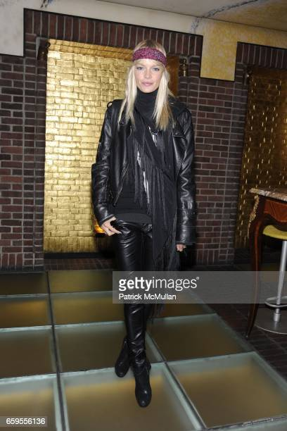Christina Tosio attends Moet Chandon hosts the Launch of Ben Watt's 'LICKSHOT' and the new Morgans Hotel Group CD at Hudson Hotel on October 14 2009...