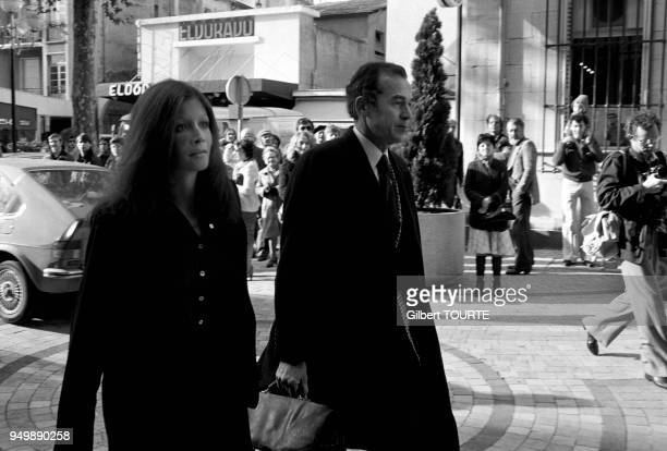 Christina von Opel with Robert Badinter