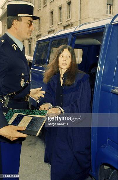 Christina von Opel's trial in AixenProvence France On April 28 1980