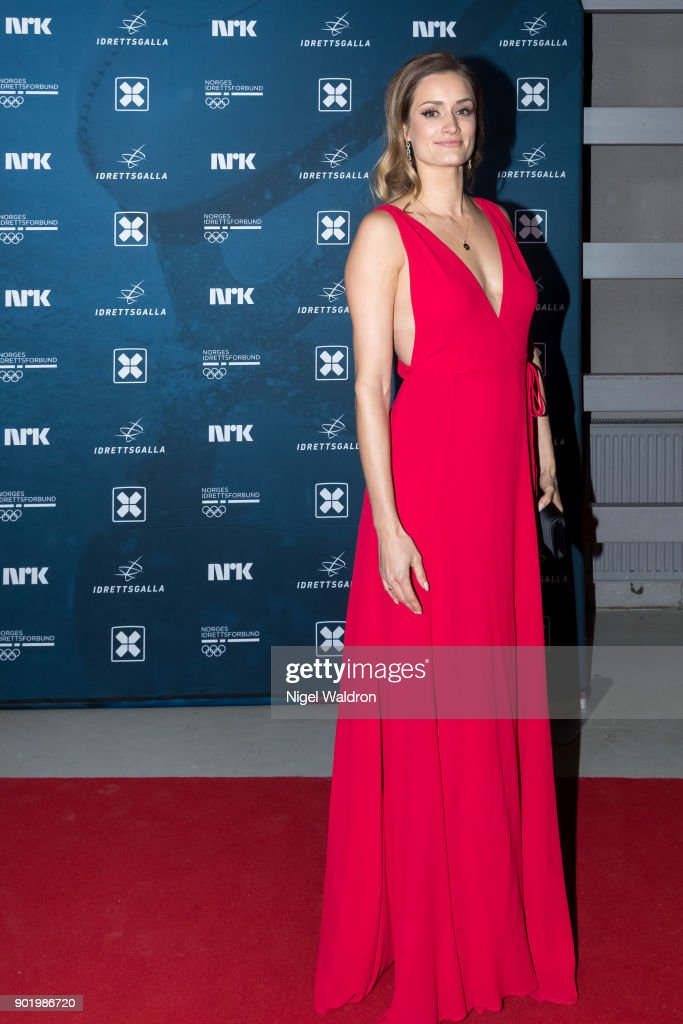 Christina Vukicevic attends the Sport Gala Awards at the Olympic Amphitheater on January 6, 2018 in Hamar, Norway.