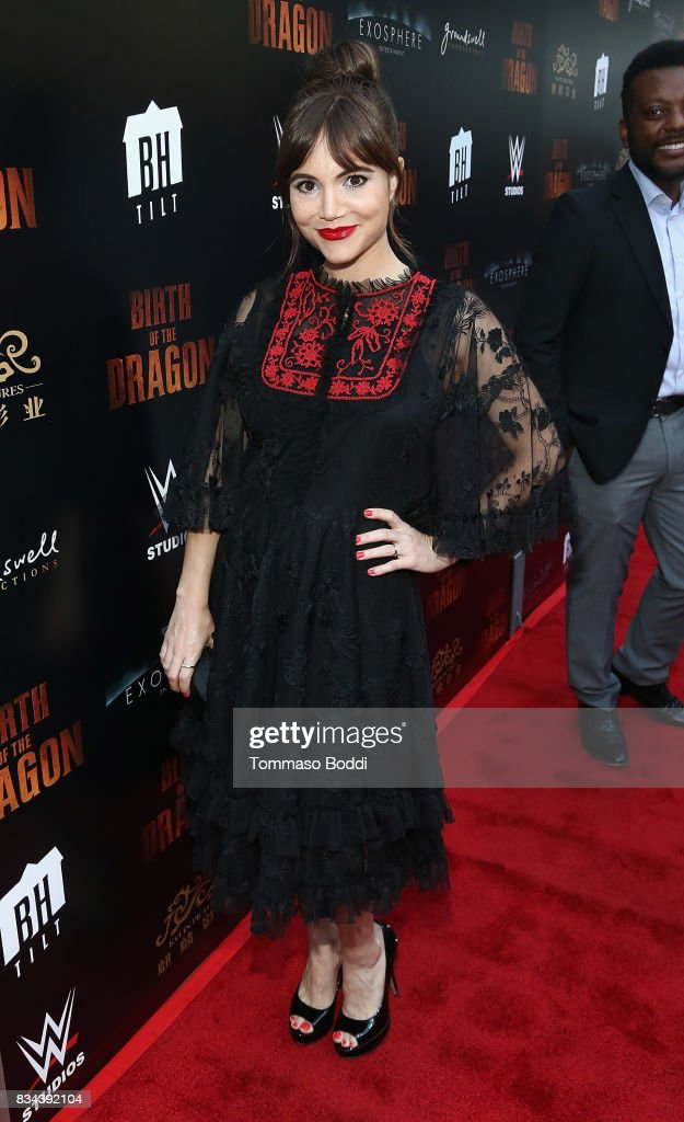 Christina Wren attends the Premiere Of WWE Studios' 'Birth Of The Dragon' at ArcLight Hollywood on August 17, 2017 in Hollywood, California.