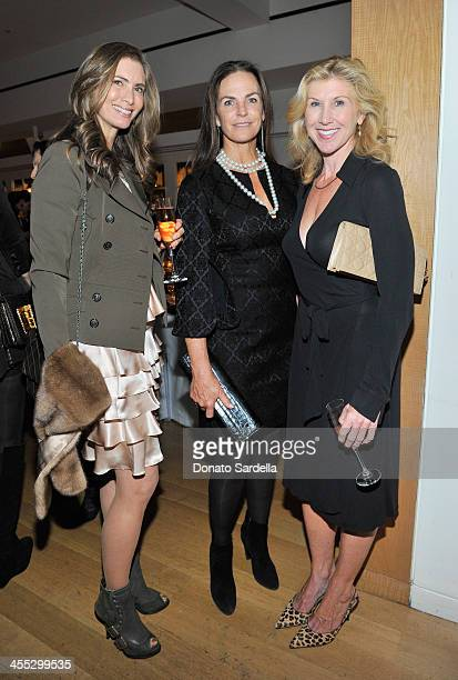 Christina Zilber Sandy Hill and Kevyn Wynn attend a private dinner in honor of Frederic Malle hosted by Barneys New York and Gelila Puck at CUT...
