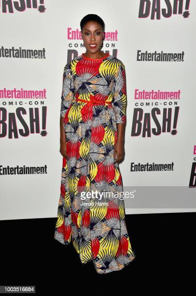 Demetrius Shipp Jr attends Entertainment Weekly's ComicCon Bash held at FLOAT Hard Rock Hotel San Diego on July 21 2018 in San Diego California...