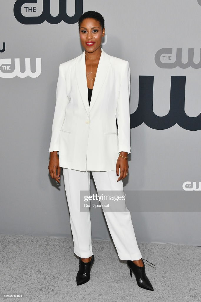 Christine Adams attends the 2018 CW Network Upfront at The London Hotel on May 17, 2018 in New York City.