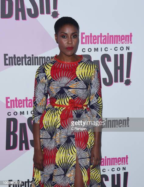 Christine Adams attends the annual Entertainment Weekly ComicCon Celebration at Float at Hard Rock Hotel San Diego on July 21 2018 in San Diego...