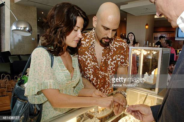 Christine and Dave Kushner during Fantasy Suite Gifting Lounge Hosted By The Palms Hotel and Casino Resort and 944 Magazine at The Palms Hotel and...