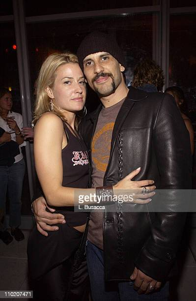 Christine and Dave Kushner during Velvet Revolver After Show Party Hosted By Clive Davis at Hotel Gansevoort in New York City New York United States