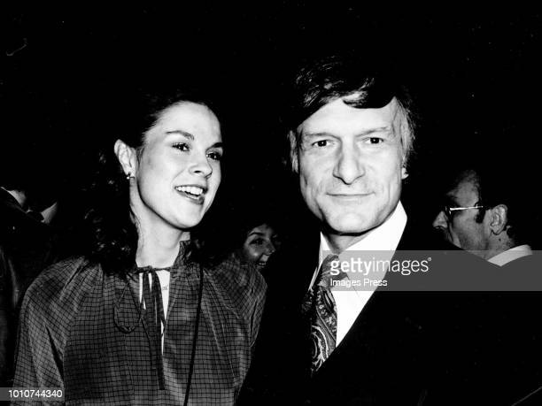 Christine and Hugh Hefner circa 1978 in New York City. (Photo by Images/Getty Images