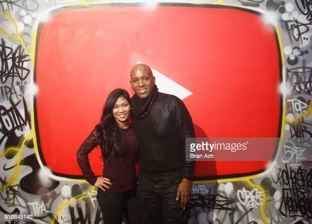 Christine and Kelly G attends YouTube brings the BOOM BAP BACK to New York City With Lyor Cohen Nas Grandmaster Flash QTip Chuck D and Fab 5 Freddy...