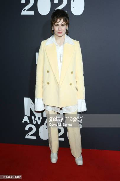 Christine and the Queens aka Heloise Letissier attends The NME Awards 2020 at the O2 Academy Brixton on February 12 2020 in London England