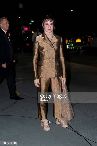 Christine and the Queens attends the 2019 Guggenheim International Gala on November 14 2019 in New York City