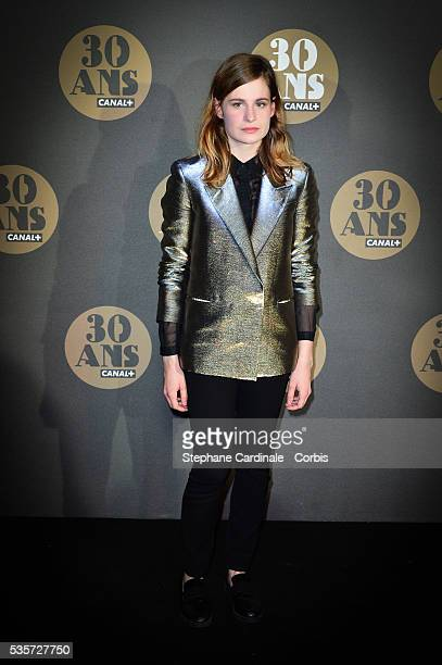 Christine and the Queens attends the 30 Th Anniversary of Canal at Palais de Tokyo in Paris