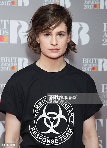 ARTIST Christine and the Queens attends The BRIT Awards 2017 nominations launch party on January 14 2017 in London United Kingdom