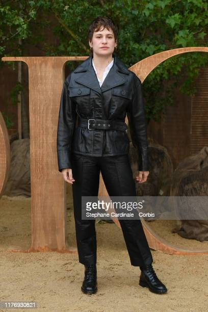 Christine and the Queens attends the Christian Dior Womenswear Spring/Summer 2020 show as part of Paris Fashion Week on September 24 2019 in Paris...