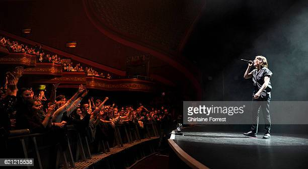 Christine and the Queens perform at O2 Apollo Manchester on November 4 2016 in Manchester England
