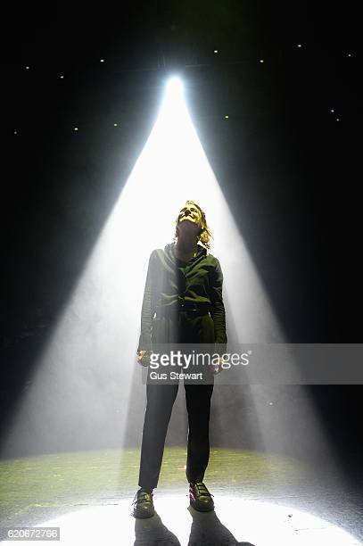 Christine and the Queens perform on stage at the O2 Academy Brixton on November 2 2016 in London England