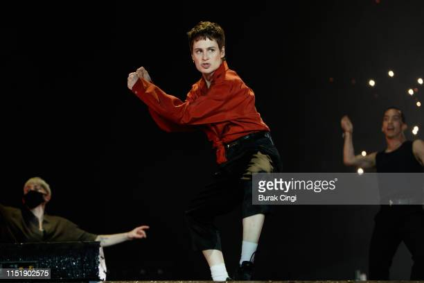 Christine and the Queens performs during All Points East Festival at Victoria Park on May 26 2019 in London England