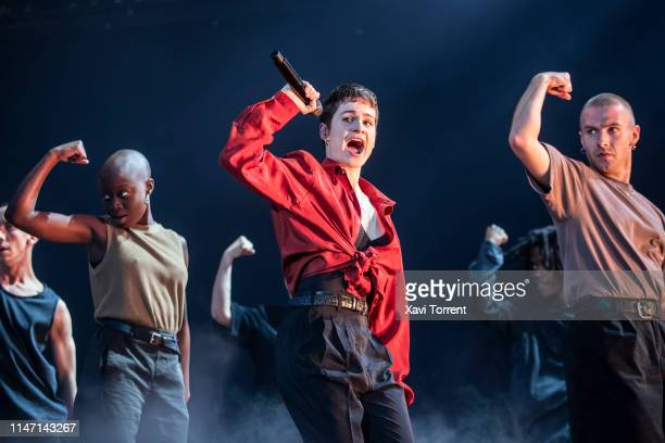 Christine and the Queens performs in concert during Primavera Sound Festival on May 30 2019 in Barcelona Spain