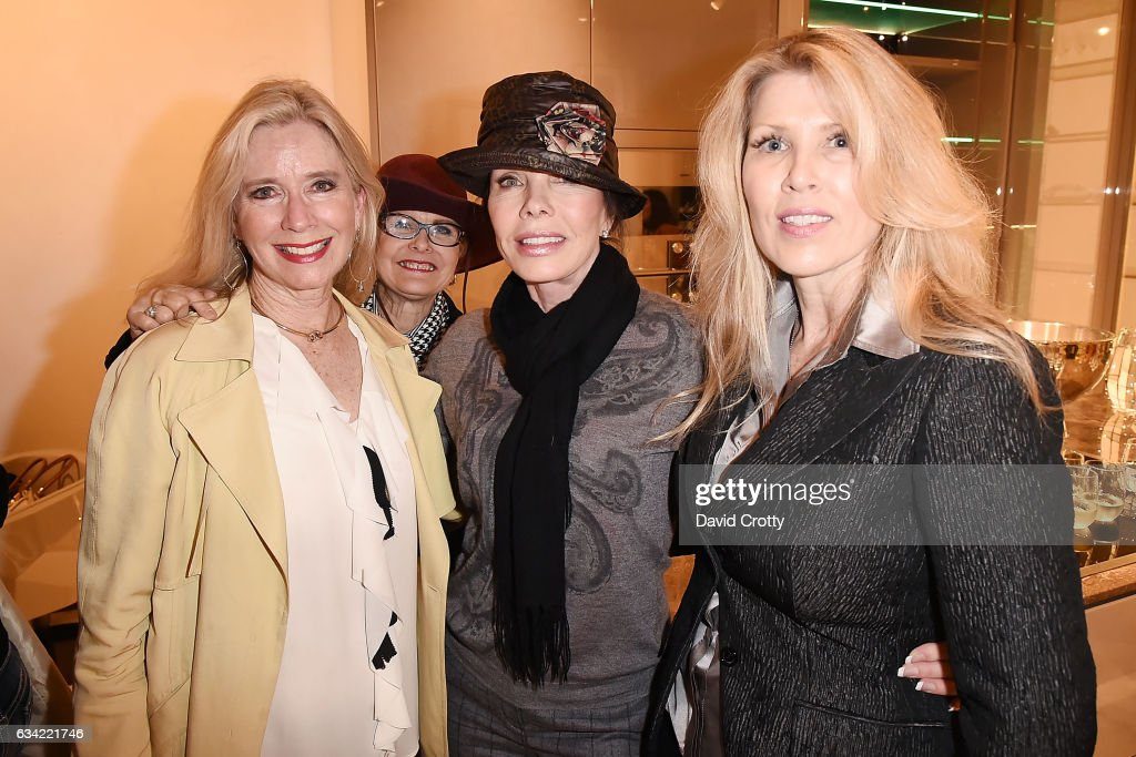 Christine Anderson Donna Livingston And Guest Attend Luxury Living Hosts  Women In Luxury Design LA On