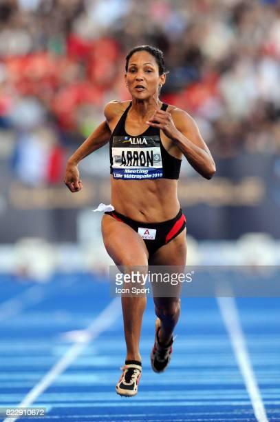 Christine ARRON 100M Meeting de Lille Metropole Ligue Nationale Villeneuve d'Ascq
