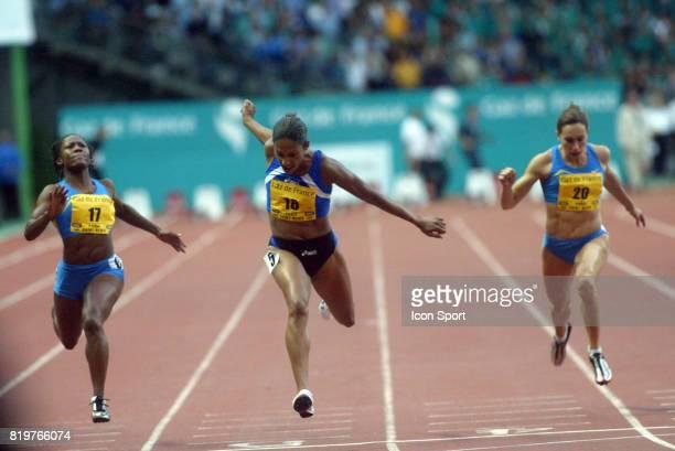Christine ARRON 100m Meeting Gaz de France 2005 Stade de France St Denis