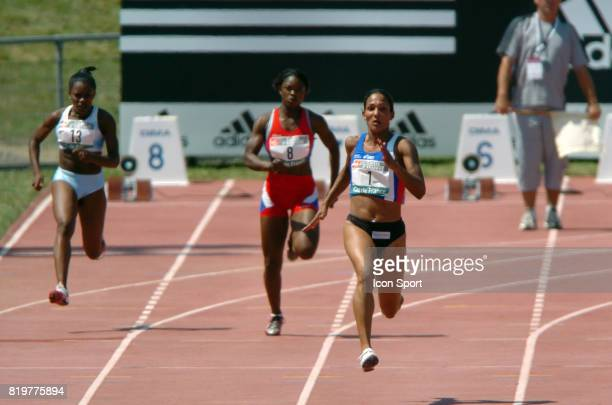 Christine ARRON 200m Championnats de France Elite Athletisme Angers