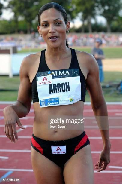 Christine ARRON 100m Alma Athle Tour Reims