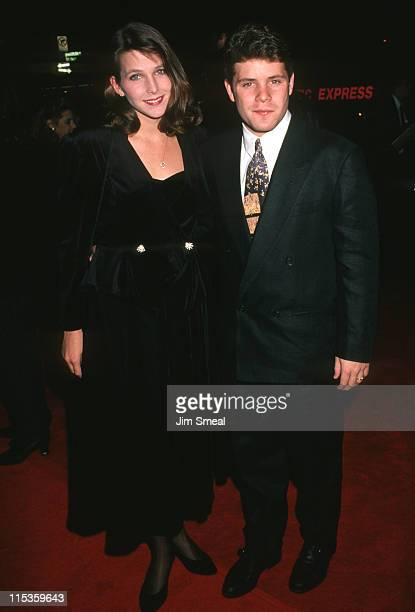 Christine Astin and Sean Astin during Sneak Preview Event Gala Celebration September 9 1993 at Sony Plaza in New York City New York United States