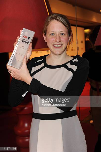 Christine Auerbach attends the CNN Journalist Award 2012 at the GOP Variete Theater on March 27, 2012 in Munich, Germany.