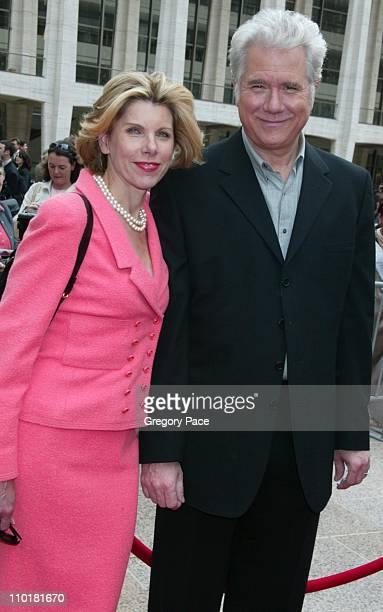 Christine Baranski and John Larroquette of the new show Happy Family