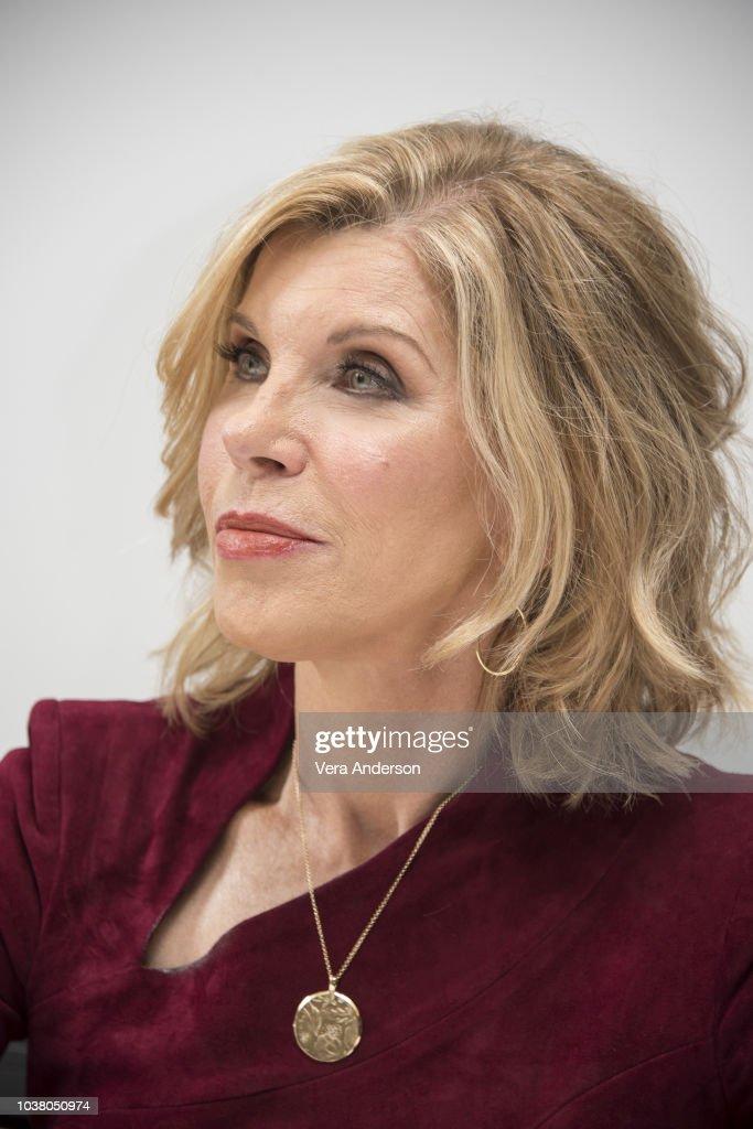 "Christine Baranski At ""The Good Fight"" Press Conference At"
