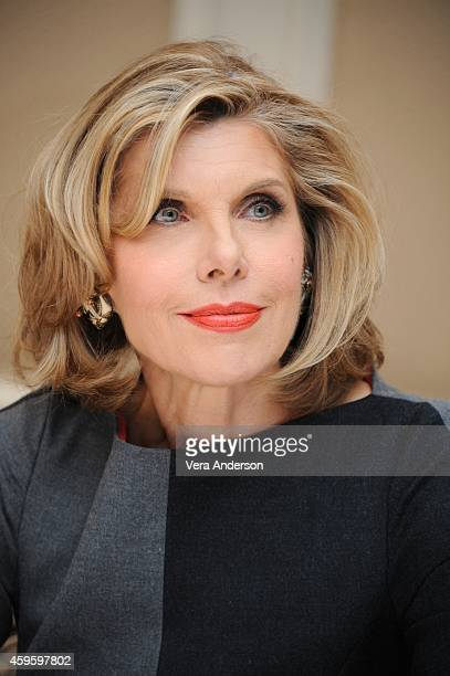Christine Baranski at the Into The Woods Press Conference at the Waldorf Astoria Hotel on November 23 2014 in New York City