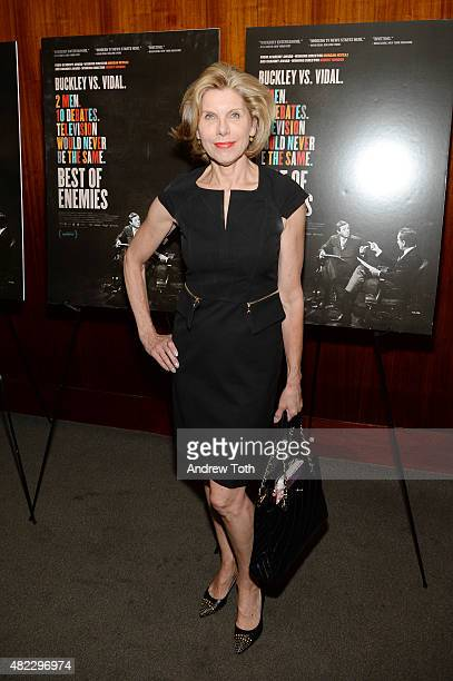 Christine Baranski attends Best Of Enemies New York premiere at Museum Of Arts And Design on July 29 2015 in New York City